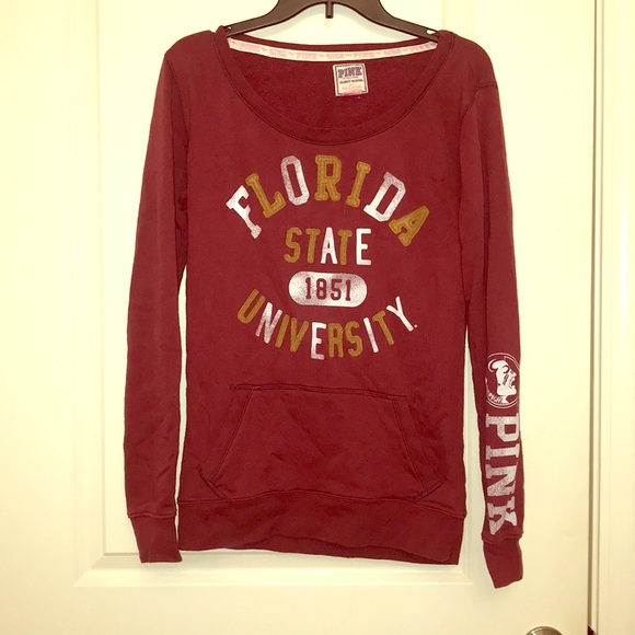 PINK Victoria's Secret Tops - FSU Florida State Pullover from VS Pink